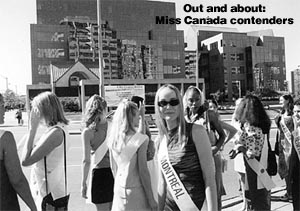 miss canada contenders