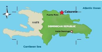 map cabarete